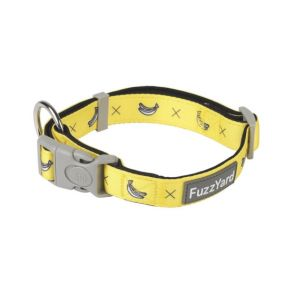 FuzzYard Monkey Mania Dog Collar - Large