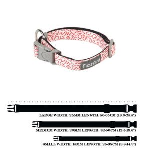 FuzzYard Scramble Dog Collar - Large