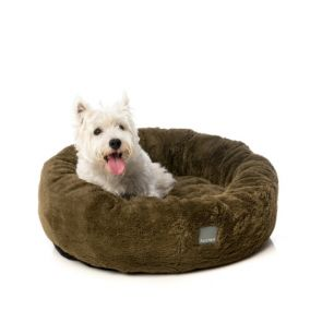 FuzzYard Eskimo Dog Bed - Moss - Small