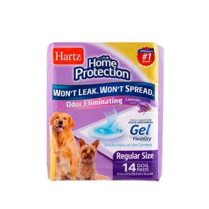 Hartz Home Protection Lavender-Scented Training Pads For Dogs 14pc