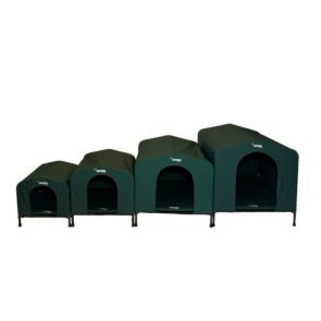 HoundHouse Dog Kennel - Green