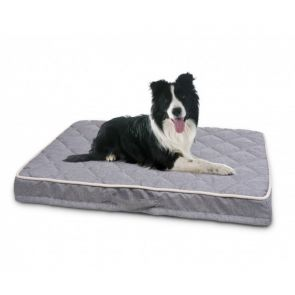 Purina Petlife Orthopedic Quilted Dog Mattress - Grey