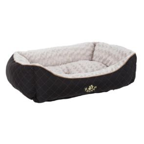 Scruffs Wilton Dog Box Bed - Black - Medium