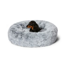 Snooza Cuddler Dog Bed - Silver Fox