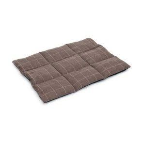 Superior Pet Rollup Pet Travel Mat - Check Chocolate