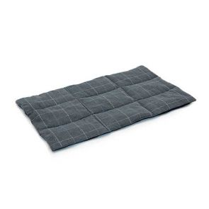 Superior Pet Rollup Pet Travel Mat - Check Grey