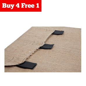 B4F1 Superior Pet Fitted Hessian Replacement Part - Cover - Medium